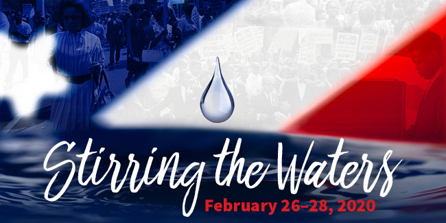 Stirring the Waters Banner