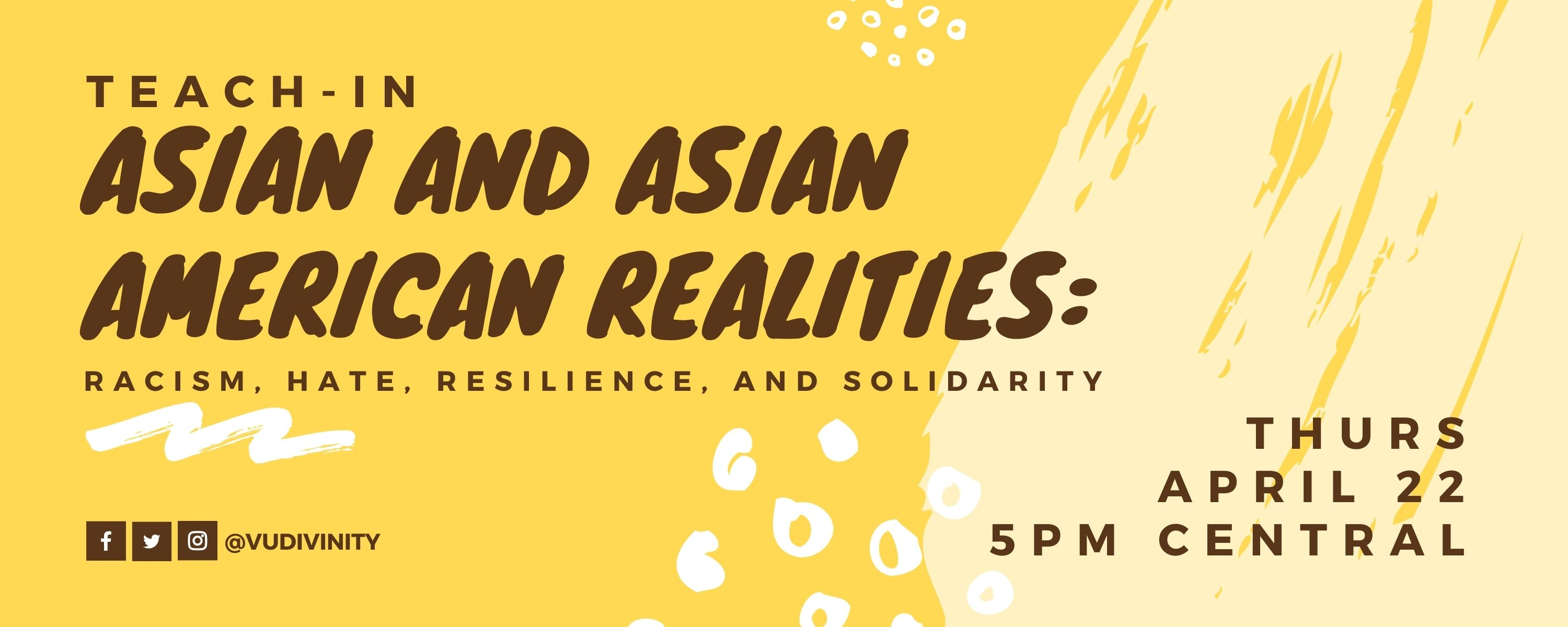 asian american realities: teach in