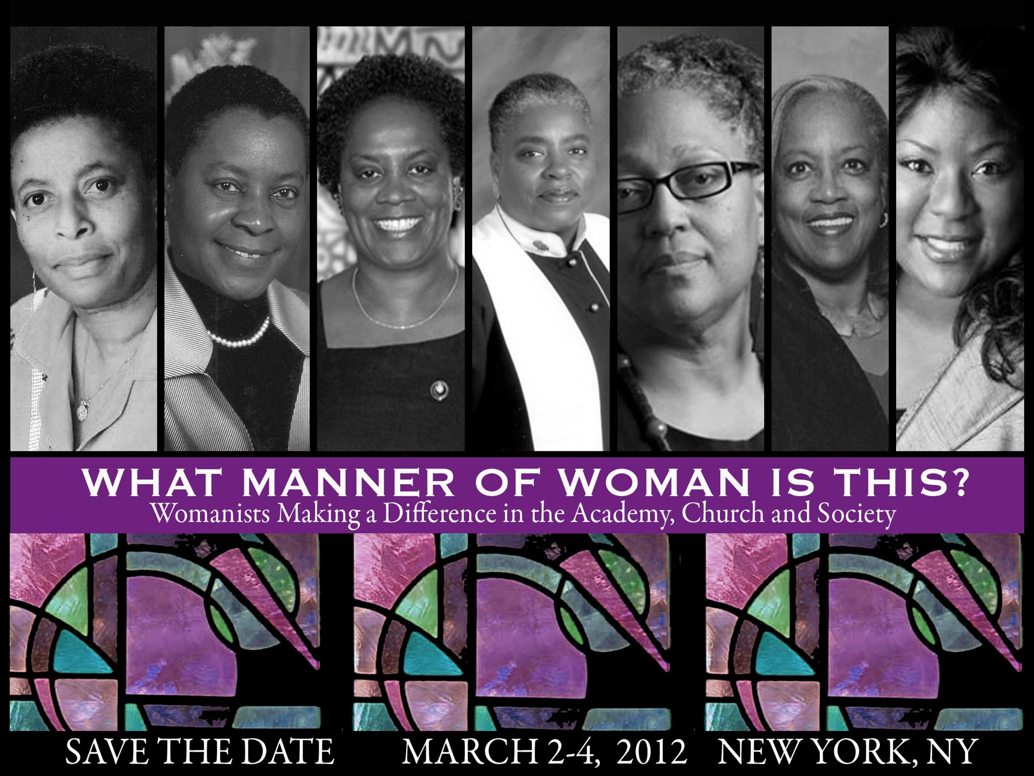 Womanist Save the Date