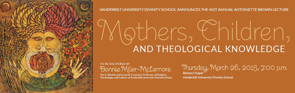 Antoinette Brown Lecture